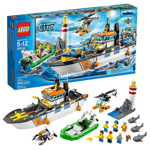 LEGO City Coast Guard 60014 Coast Guard Patrol