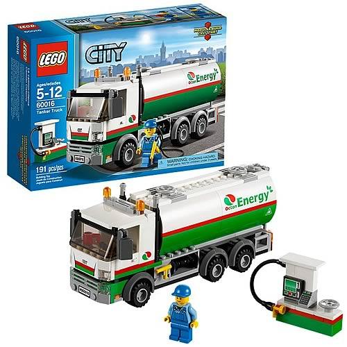 LEGO City 60016 Tanker Truck
