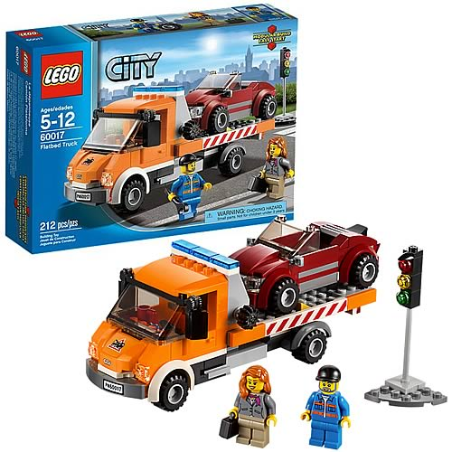 LEGO City 60017 Flatbed Truck