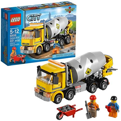 LEGO City 60018 Cement Mixer