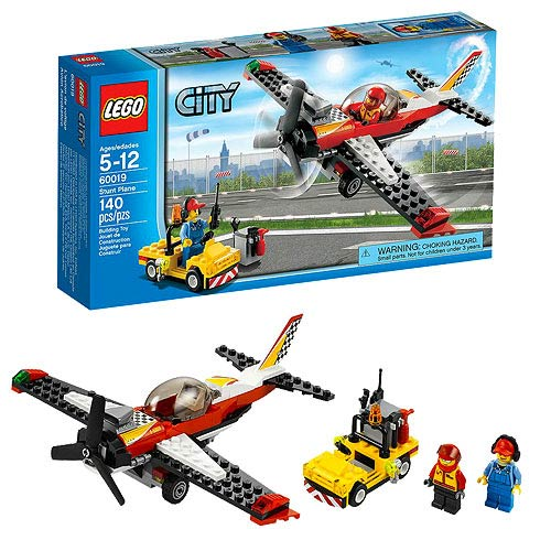 LEGO City Airport 60019 Stunt Plane