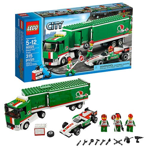 LEGO City Town 60025 Grand Prix Truck