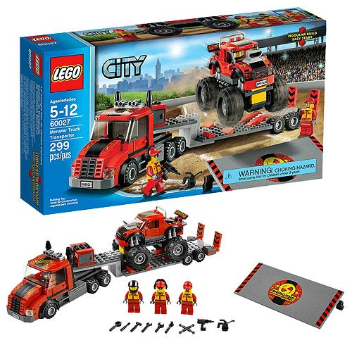 LEGO City Town 60027 Monster Truck Transporter