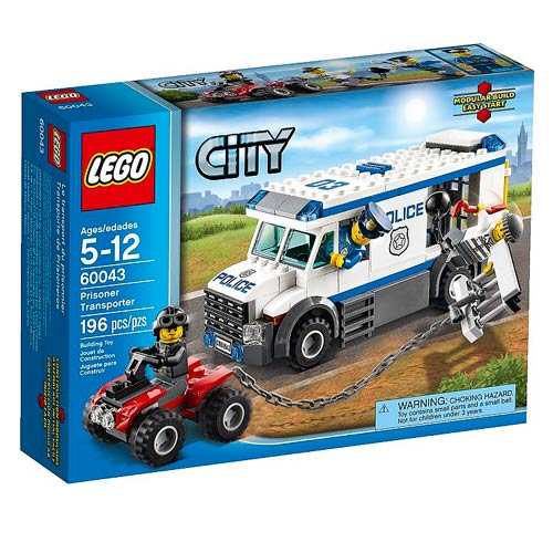 LEGO City 60043 Prisoner Transporter