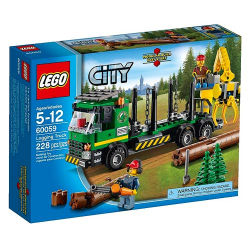 LEGO City 60059 Logging Truck