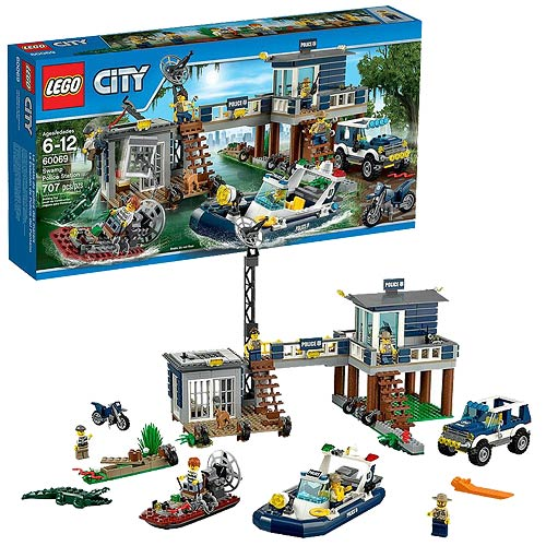 LEGO City 60069 Swamp Police Station