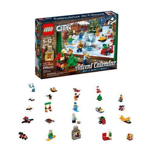 Lego City 60155 Advent Calendar 2017 Lego Lego City