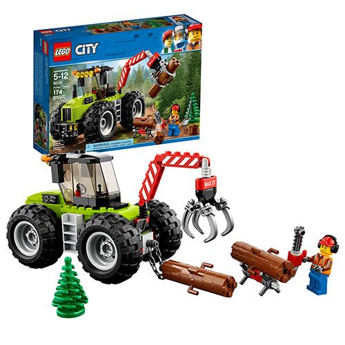 LEGO City Great Vehicles 60181 Forest Tractor