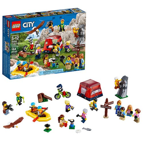 LEGO City 60202 People Pack Outdoor Adventure
