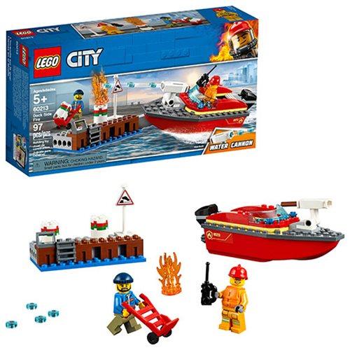 LEGO 60213 City Dock Side Fire