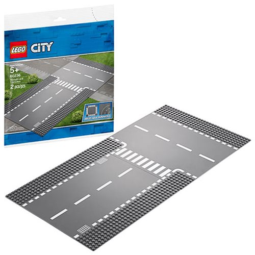 LEGO 60236 City Straight and T-junction