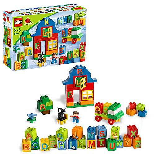 LEGO DUPLO 6051 Play With Letters