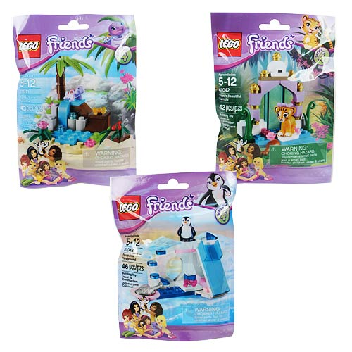 LEGO Friends Minifigures Animal Series 4 Set