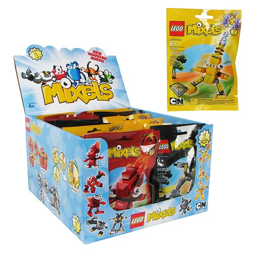 LEGO Mixels Minifigures Series 1 Case