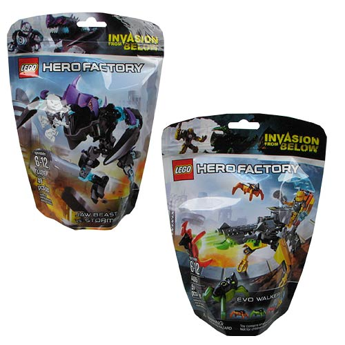 LEGO Hero Factory Series 1 Minifigure Case