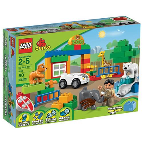 LEGO DUPLO 6136 My First Zoo Case