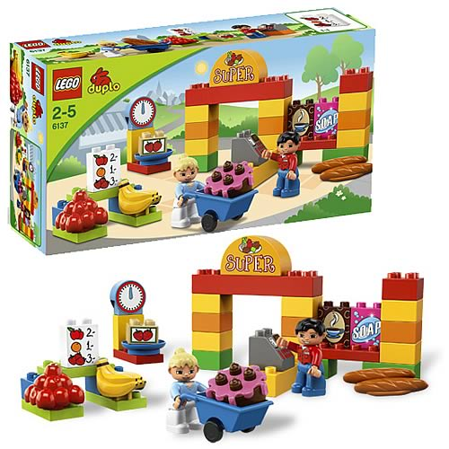 LEGO DUPLO 6137 My First Supermarket
