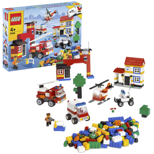 LEGO 6164 Rescue Building Set