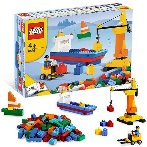 LEGO 6186 Creator Build Your Own Harbor