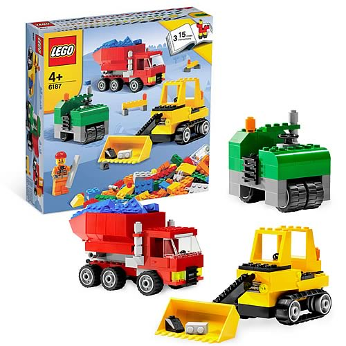 LEGO 6187 Road Construction Set
