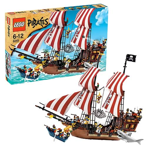 LEGO 6243 Pirates Brickbeard's Bounty