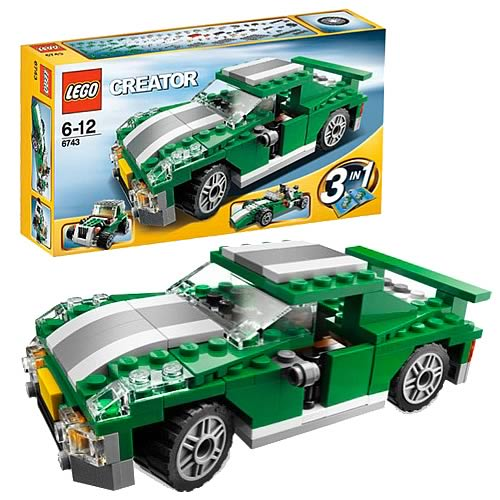 LEGO 6743 Racers Street Speeder Car