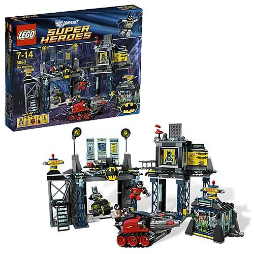 All Lego Toys : Lego dc universe batman batcave