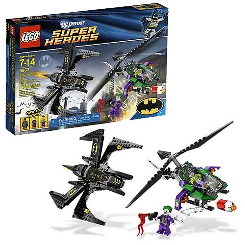 LEGO DC Universe 6863 Batwing Battle Over Gotham City