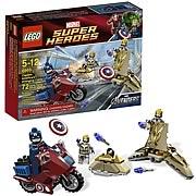 LEGO Marvel 6865 Avengers Captain America's Avenging Cycle