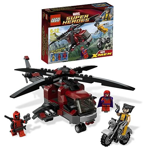 LEGO Marvel Super Heroes 6866 Wolverine's Chopper Showdown