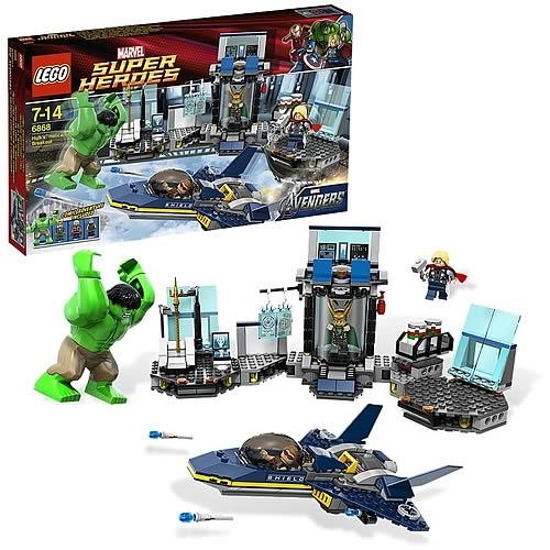 LEGO Marvel 6868 Avengers Hulk's Helicarrier Breakout