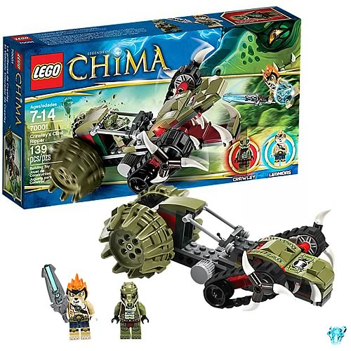LEGO Legends of Chima 70001 Crawley's Claw Ripper