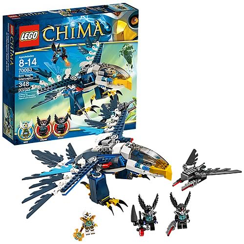 LEGO Legends of Chima 70003 Eris' Eagle Interceptor
