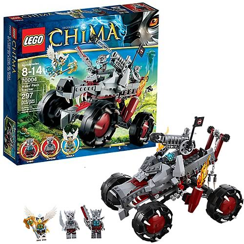 LEGO Legends of Chima 70004 Wakz' Pack Tracker