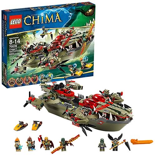 LEGO Legends of Chima 70006 Cragger's Command Ship