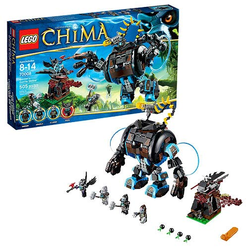 LEGO Legends of Chima 70008 Gorzan's Gorilla Striker