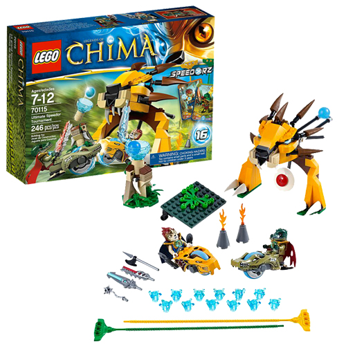 LEGO Legends of Chima 70115 Ultimate Speedor Tournament