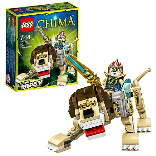 LEGO Legends of Chima 70123 Lion Legend Beast