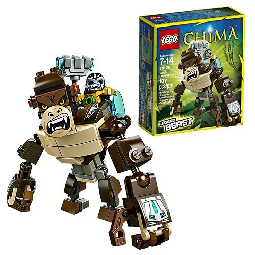 LEGO Legend of Chima 70125 Gorilla Legend Beast