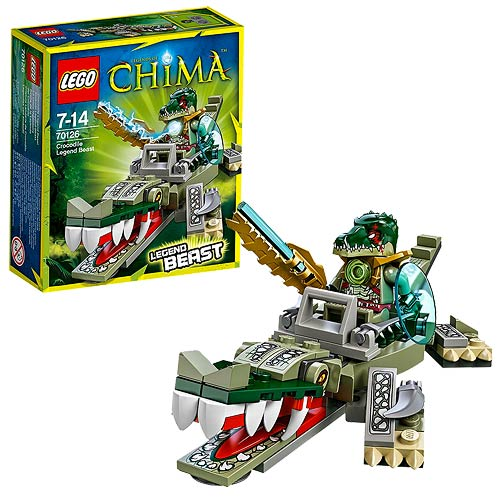 LEGO Legend of Chima 70126 Crocodile Legend Beast