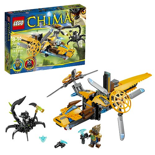 LEGO Legends of Chima 70129 Lavertus' Twin Blade