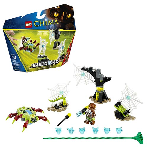 LEGO Legends of Chima 70138 Speedorz Web Dash