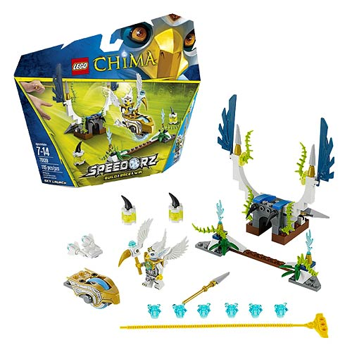 LEGO Legends of Chima 70139 Speedorz Sky Launch