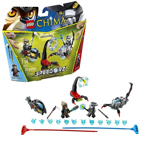 LEGO Legends of Chima 70140 Speedorz Stinger Duel