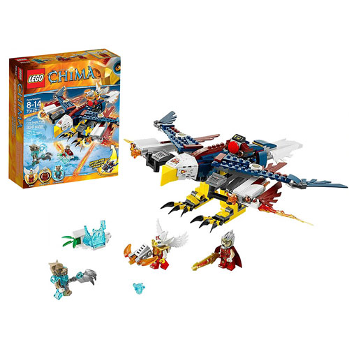 LEGO Legends of Chima 70142 Eris' Fire Eagle Flyer