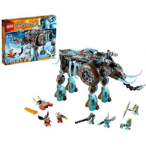 LEGO Legends of Chima 70145 Maula's Ice Mammoth Stomper