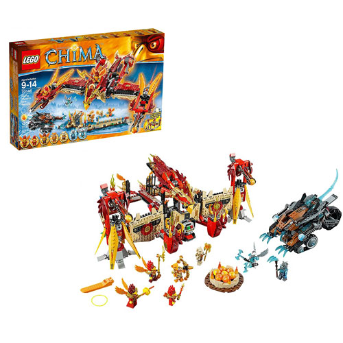 LEGO Legends of Chima 70146 Flying Phoenix Fire Temple