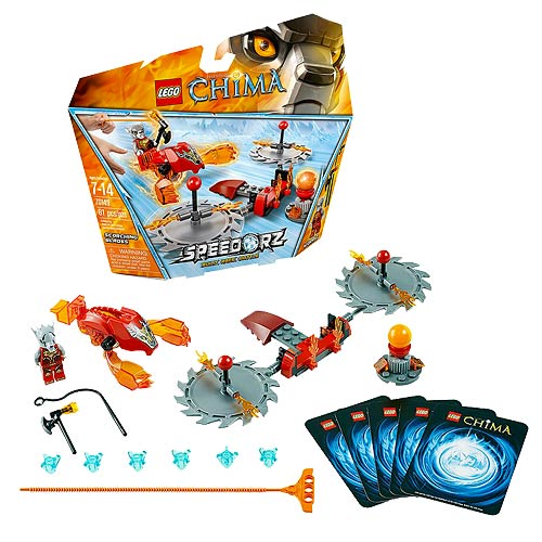LEGO Legends of Chima 70149 Speedorz Scorching Blades