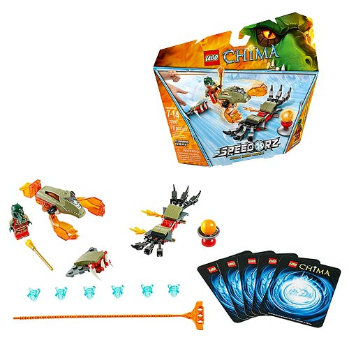 LEGO Legends of Chima 70150 Speedorz Flaming Claws