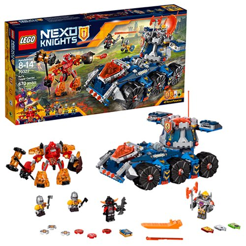 LEGO Nexo Knights 70322 Axl's Tower Carrier